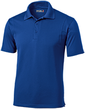 Fred L Wilson Elementary School Stingers Micropique Tag-Free Flat-Knit Collar Polo