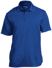 Miami East Elementary School Vikings Micropique Tag-Free Flat-Knit Collar Polo