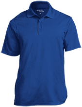 Stewart 5th Grade School Mustangs Micropique Tag-Free Flat-Knit Collar Polo