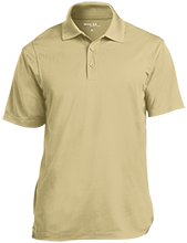 Las Lomas High School Knights Micropique Tag-Free Flat-Knit Collar Polo