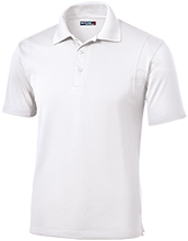 Oakview Elementary School Acorns Micropique Tag-Free Flat-Knit Collar Polo