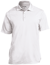 Heritage Academy School Micropique Tag-Free Flat-Knit Collar Polo