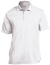 KIVA High School High School Micropique Tag-Free Flat-Knit Collar Polo