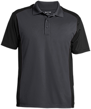 School Men's Colorblock Sport-Wick Polo