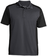 Breast Cancer Men's Colorblock Sport-Wick Polo