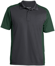 St. Francis Indians Football Men's Colorblock Sport-Wick Polo