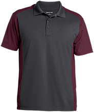 Akiva School Men's Colorblock Sport-Wick Polo