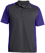 Garfield High School Boilermakers Men's Colorblock Sport-Wick Polo