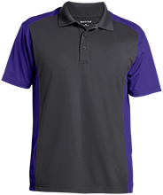 H B Lawrence Elementary School Knights Men's Colorblock Sport-Wick Polo
