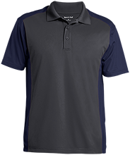 Broad Meadows Middle School School Men's Colorblock Sport-Wick Polo