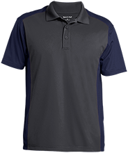 Brick Kindergarten School Men's Colorblock Sport-Wick Polo