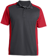 EUSA Eusa Men's Colorblock Sport-Wick Polo