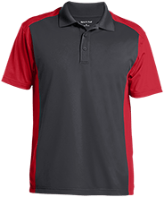 Gordon Elementary School Mustangs Men's Colorblock Sport-Wick Polo