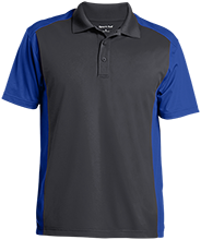 Buffalo Springs School School Men's Colorblock Sport-Wick Polo
