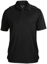 Design Yours Design Yours Micropique Sport-Wick Piped Polo
