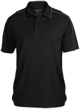 Mount Olive Township School Micropique Sport-Wick Piped Polo
