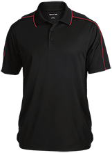 Cheerleading Micropique Sport-Wick Piped Polo