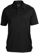 Milner Crest Elementary School Cougars Micropique Sport-Wick Piped Polo