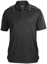 Arkansas Baptist School Eagles Micropique Sport-Wick Piped Polo