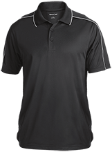 Buffalo Springs School School Micropique Sport-Wick Piped Polo