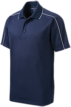 Bethesda Christian School Eagles Micropique Sport-Wick Piped Polo