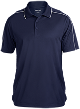 Daytona Beach Christian School Saints Micropique Sport-Wick Piped Polo