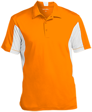 Beachwood High School Bison Men's Colorblock Performance Polo