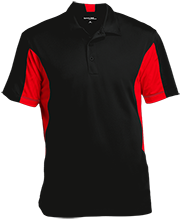 Spann Elementary School Panda Bears Men's Colorblock Performance Polo
