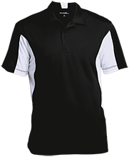Cracker Trail Elementary School Mustangs Men's Colorblock Performance Polo