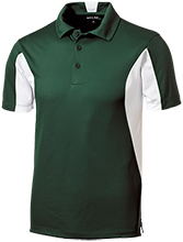 South County Secondary School Stallions Men's Colorblock Performance Polo