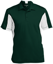 The Computer School Terrapins Men's Colorblock Performance Polo