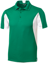 Jacaranda School School Men's Colorblock Performance Polo