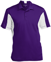 H B Lawrence Elementary School Knights Men's Colorblock Performance Polo