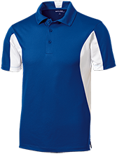 London Towne Elementary School Lions Men's Colorblock Performance Polo