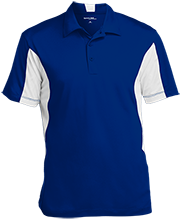 Stewart 5th Grade School Mustangs Men's Colorblock Performance Polo
