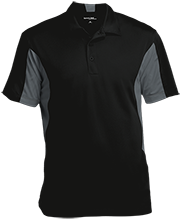 Discovery Charter School Warriors Men's Colorblock Performance Polo