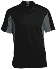 Anna L Carter Kindergarten Center School Men's Colorblock Performance Polo