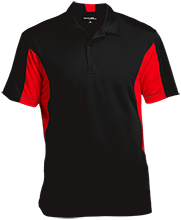 Breast Cancer Men's Colorblock Performance Polo