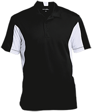 Milton High School Panthers Men's Colorblock Performance Polo