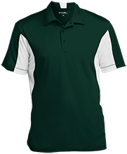 St. Francis Indians Football Men's Colorblock Performance Polo
