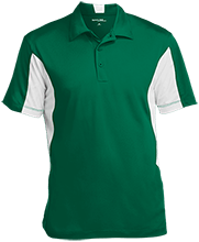 Charles Clark Elementary School School Men's Colorblock Performance Polo