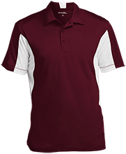 East Central Middle School Hornets Men's Colorblock Performance Polo