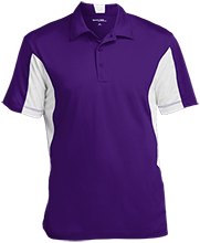 Bristol Bay Angels Men's Colorblock Performance Polo