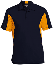 Del Val Wrestling Wrestling Men's Colorblock Performance Polo