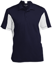 Brick Kindergarten School Men's Colorblock Performance Polo