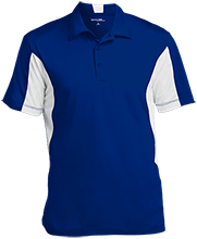 Milner Crest Elementary School Cougars Men's Colorblock Performance Polo