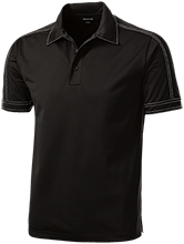 Jacaranda School School Contrast Stitch Performance Polo