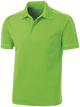 Alpena High School Wildcats Contrast Stitch Performance Polo