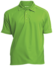 Richland Christian School School Contrast Stitch Performance Polo