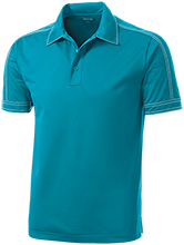 Muhlenberg Middle School Bartholomuhls Contrast Stitch Performance Polo